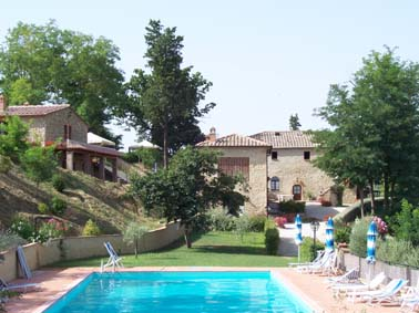 Apartments nahe bei Volterra, familienfreundlich. san gimignano