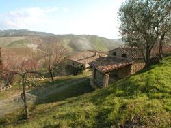 Rustikales Landhaus bei Volterra